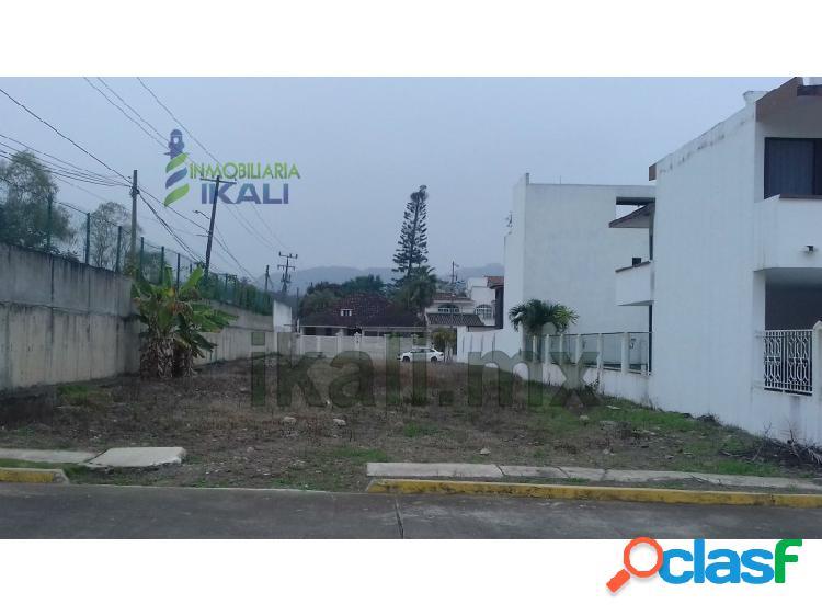 Venta Terreno 426 m² Colonia AIPM Poza Rica Veracruz, A I M