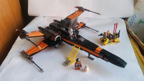 X Wing C Lego Star Wars Poe Dameron,last Jedi,darth Vader