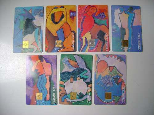 Zodiaco 7 Tarjetas Telefonicas