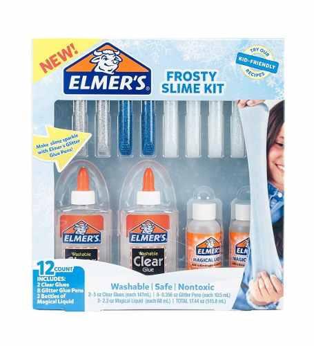 Elmers: Frosty Slime Kit O Starter Kit. Elige Tu Preferido!!