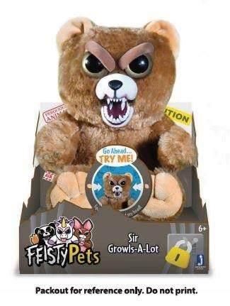 Feisty Pets Sir Growlsalot Oso