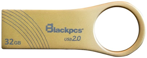 Memoria Usb 32gb Metalica Oro Blackpcs  Mayoreo Barato