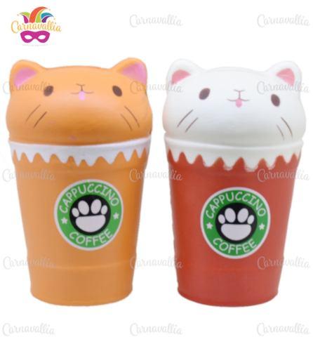 Pack Squishys Kawaii Jumbo: Vasos De Gato Starcat
