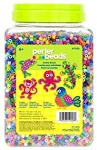 Perler Beads Bote Cubeta  Cuentas Midi Mix 30 Colores