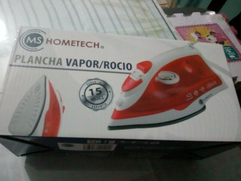 Plancha Nueva Vapor/Rocio Ms Hometech HT-200
