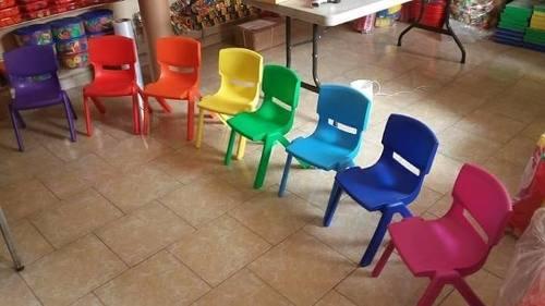 Sillas Infantiles Premium Escolar Paquete Con 6 Envío