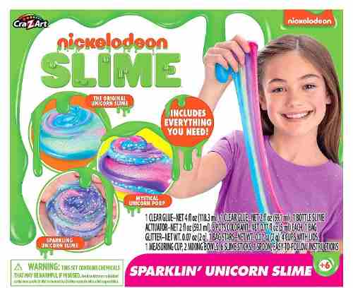 Slime Nickelodeon Unicorn Sparkling