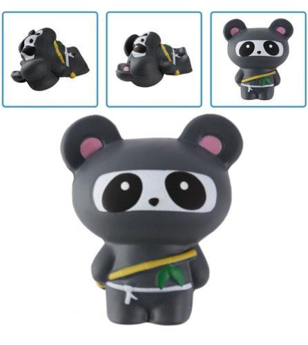 Squishy Kawaii Jumbo Con Aroma: Panda Ninja