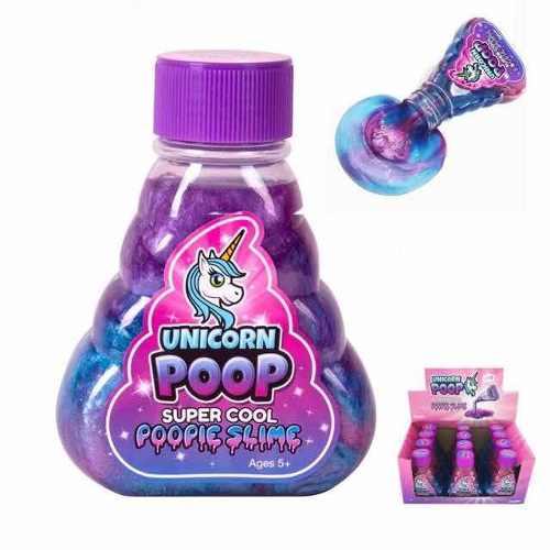Unicorn Poop Slime 12 Piezas
