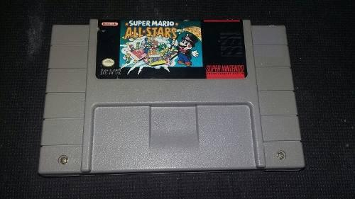 Carcasa Super Mario All Stars Super Nintendo Snes