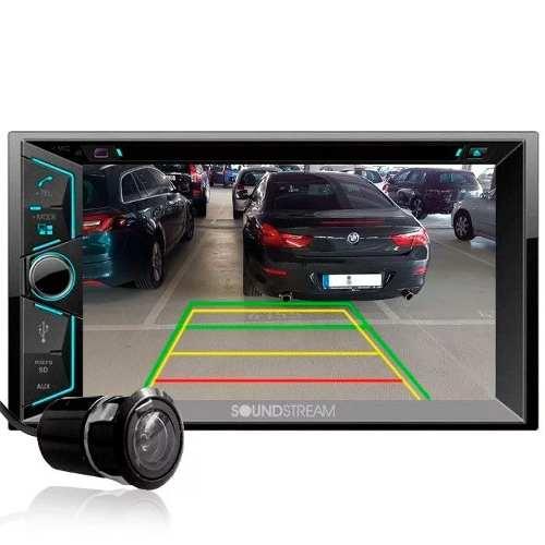Estereo Pantalla Soundstream Vr-624b Con Camara Y Bluetooth