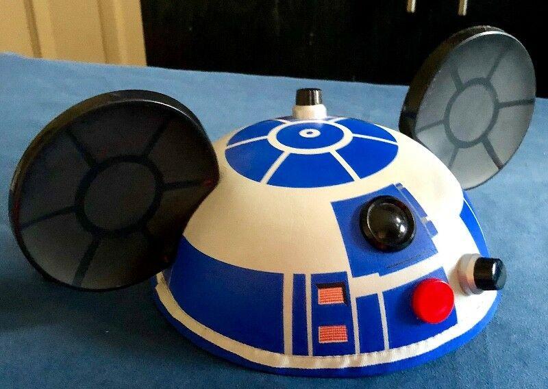Gorro Disney Parks Star Wars R2 D2 Mickey Ears Hat