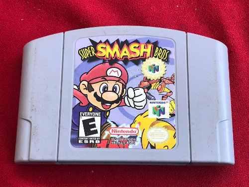 Juego Cartucho Súper Smash Bros 64 Nintendo N64