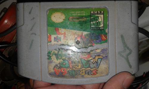 Juego De N64 Super Mario 64