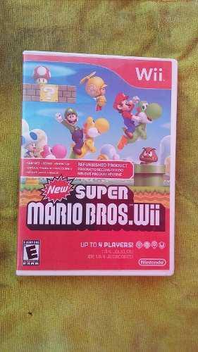 Juego De Nintendo Wii Super Mario Bros Wii
