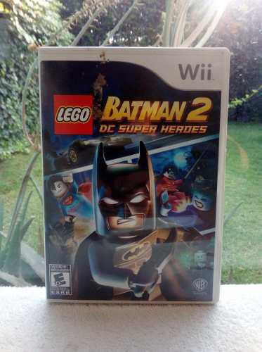 Juego Lego Batman 2 Dc Super Heroes Nintendo Wii