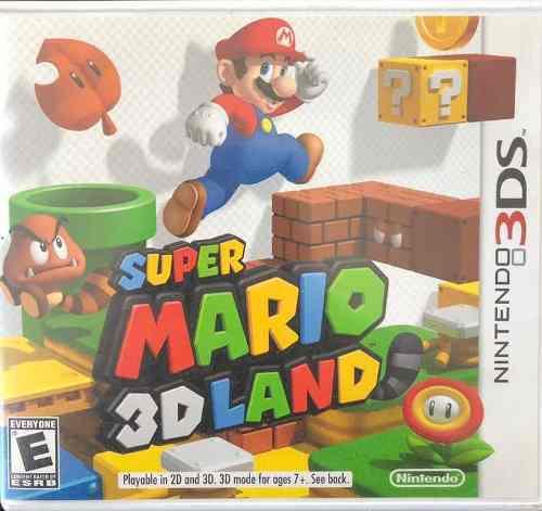 Juego Súper Mario 3d Land Para Nintendo 3ds