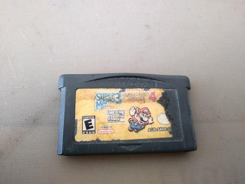 Juego Super Mario 3 Game Boy Advance Mario Bros Nintendo Nes