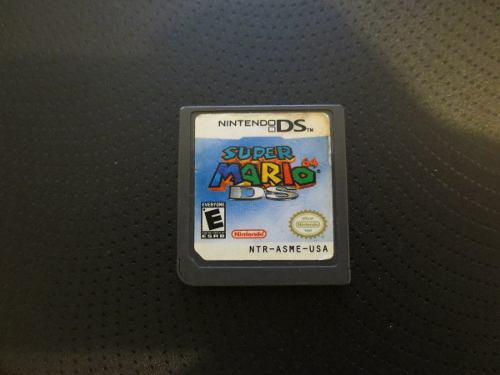 Juego Super Mario 64 Nintendo Ds Usado Suelto