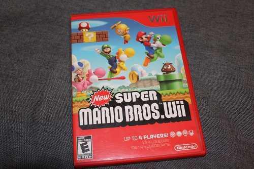 Juego Wii - New Super Mario Bros. Wii - Impecable