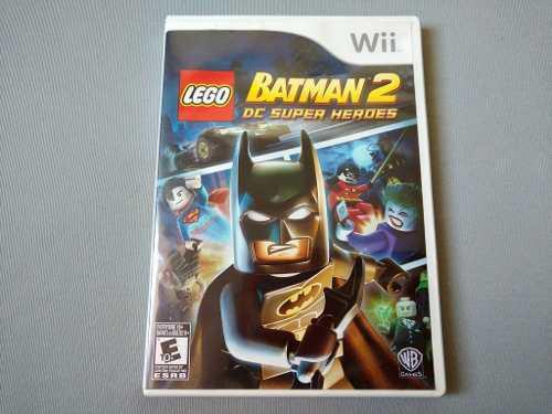 Lego Batman 2 Dc Super Heroes Original Para Nintendo Wii