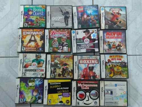 Lote De 16 Juegos Para Nintendo Ds