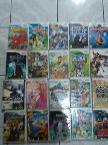 Lote De 20 Juegos Para Nintendo Wii