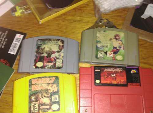 Lote De Juegos De Nintendo 64 Y Super Nes