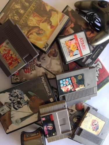 Lote De Videojuegos Nes, Xbox, Snes, Atari