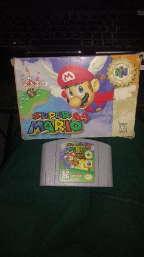 Mario 64 En Caja Buen Estado Nintendo 64
