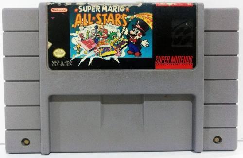Mario All Stars Super Nintendo Snes Cartucho Retromex Tcvg