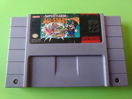 Mario All Stars Videojuego Cartucho Super Nintendo Snes