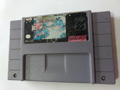 Mario World 2 Super Yoshi Nintendo Snes Videojuego Cartucho