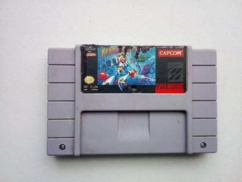 Mega Man X Snes Megaman X Super Nintendo C