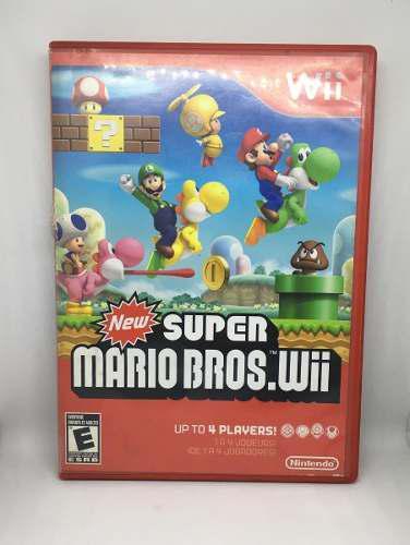 New Super Mario Bros Wii Videojuego Nintendo El Principio