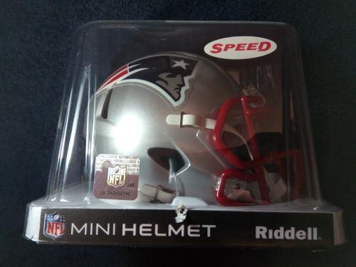 Nfl Mini Casco Riddell Speed New England Patriots