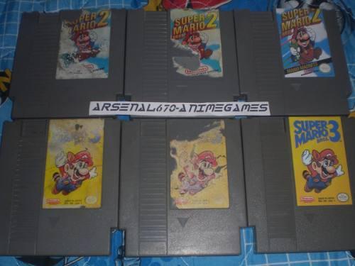 Nintendo Super Mario Bros 2 Y 3 B Nes
