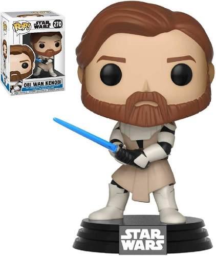 Obi Wan Kenobi 270 Clone Wars Funko Pop Star Wars