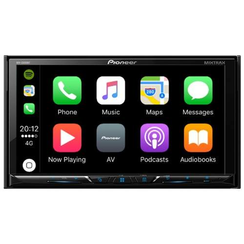 Pantalla Pioneer Avh-zbt 7 Carplay Android Bluetooth