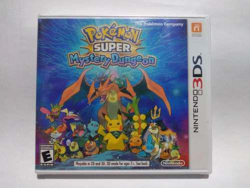 Pokemon Super Mystery Dung Para Nintendo 3ds Videojuegos Leo