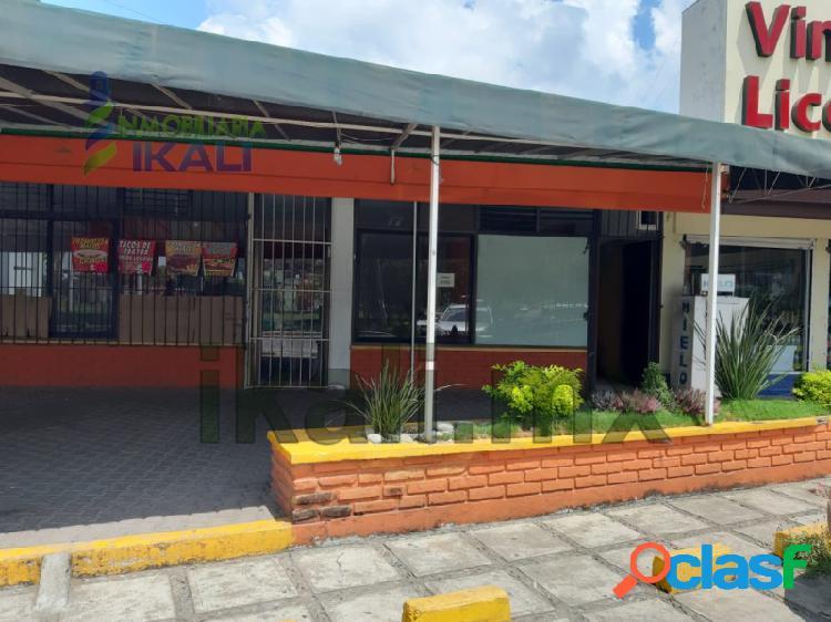 Renta Local Comercial col. Cazones Poza Rica Veracruz,