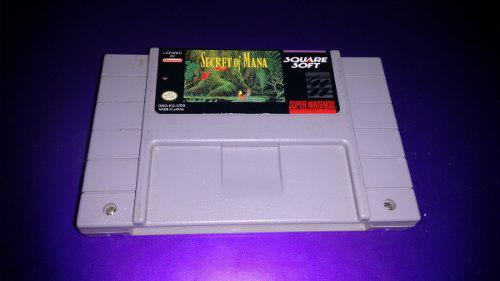 Secret Of Mana Para Super Nintendo Snes,funcionando Perfecta