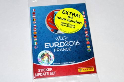 Set De Actualizacion Eurocopa Francia  Panini