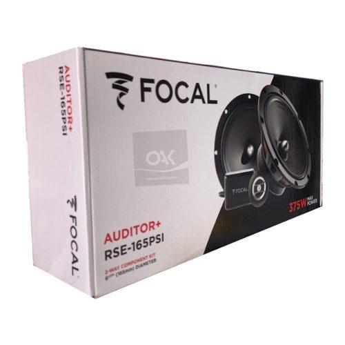 Set De Medios Focal 6.5 Auditor+ 2 Vias 120w Rse-165psi