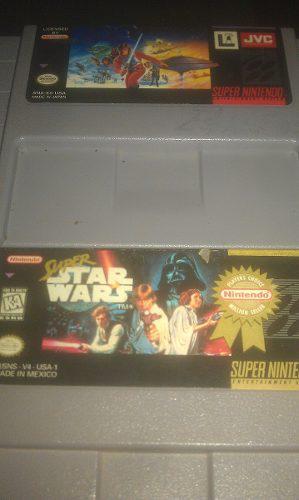 Snes Super Star Wars Y Super Empire Strikes Back