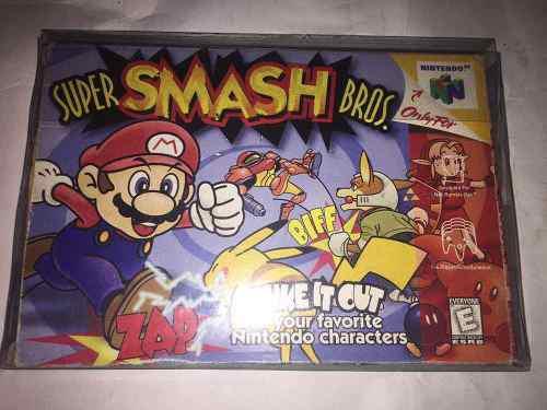 Súper Smash Bros N64 (cementerio De Los Videojuegos Retro
