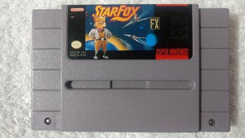 Star Fox Para Super Nintendo (snes) Oferta..!!