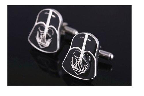 Star Wars Mancuernillas De Acero Darth Vader A2 Originales