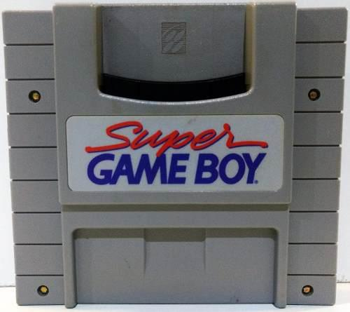 Super Game Boy Super Nintendo Snes Cartucho Retromex Tcvg