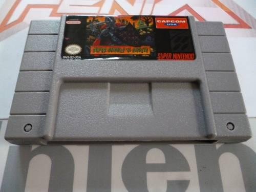 Super Ghouls 'n Ghosts (r3pr0) Snes. Nuevo. Game Fenix. 430